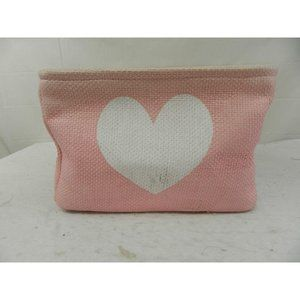 AS IS Rectangle shaped storage basket heart design